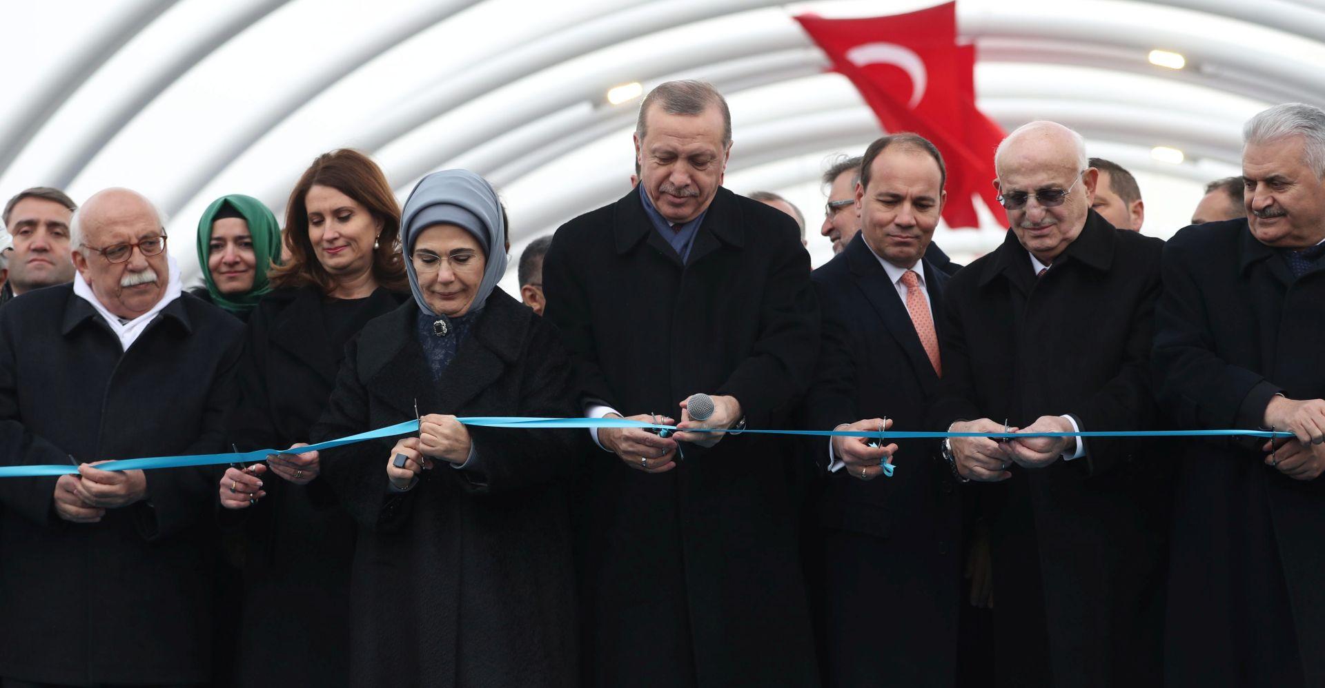 Erdogan otvorio prvi cestovni tunel ispod Bospora