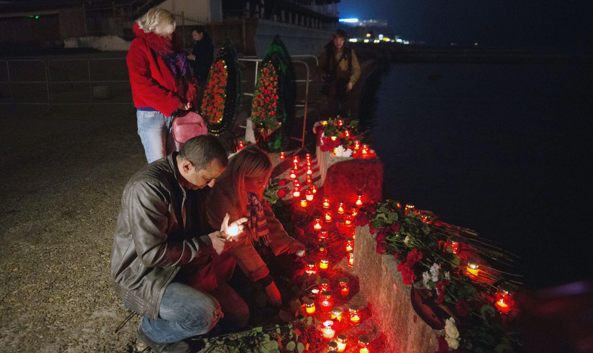 Rusija tuguje za žrtvama zrakoplovne nesreće