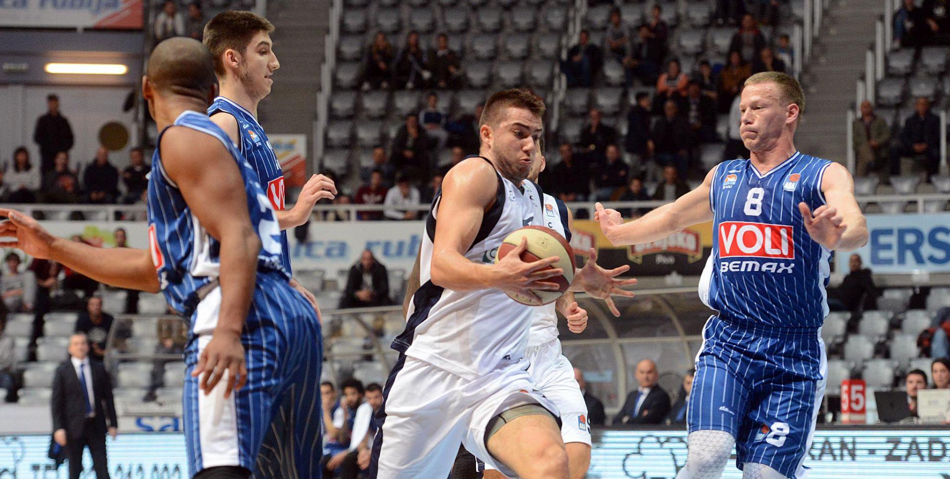ABA LIGA Zadar slavio protiv Budućnosti