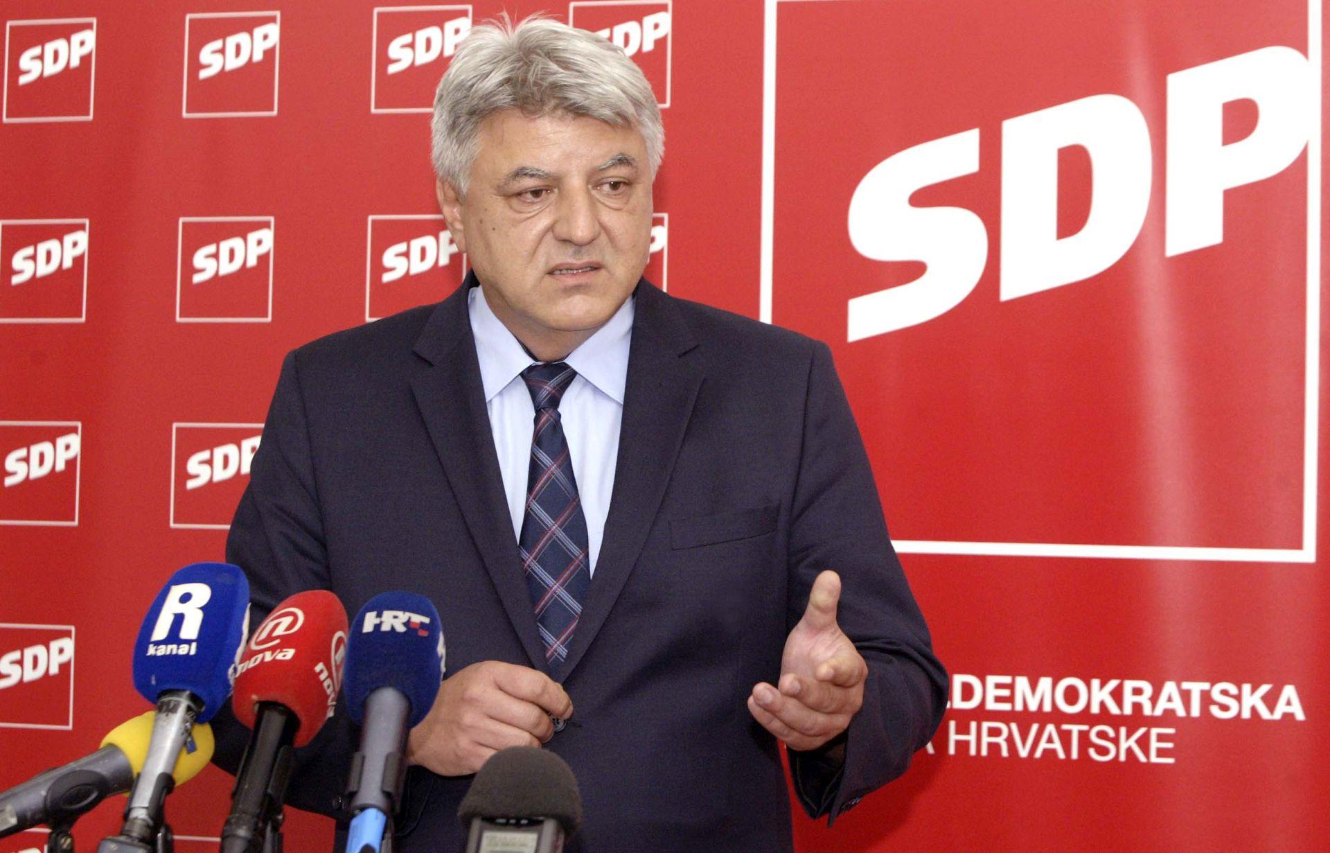 KOMADINA 'Opomene pred isključenje su poruka da je svatko potreban SDP-u'