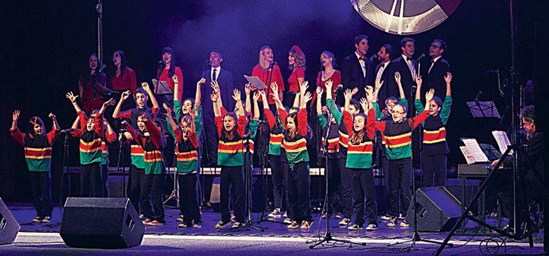 Zagrebački zbor Klinci s Ribnjaka održao koncert u Bratislavi