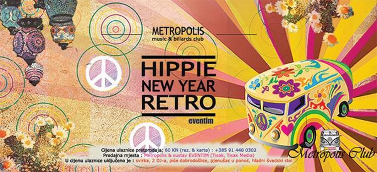 Uđite u novu 2017. godinu na hippie cvijetnom dočeku