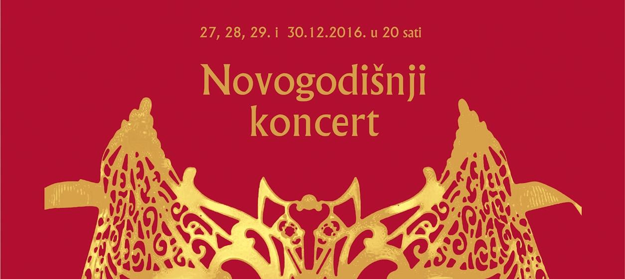 Novogodišnji koncerti u HNK Ivana pl. Zajca uz popularne odlomke iz 'Šišmiša'