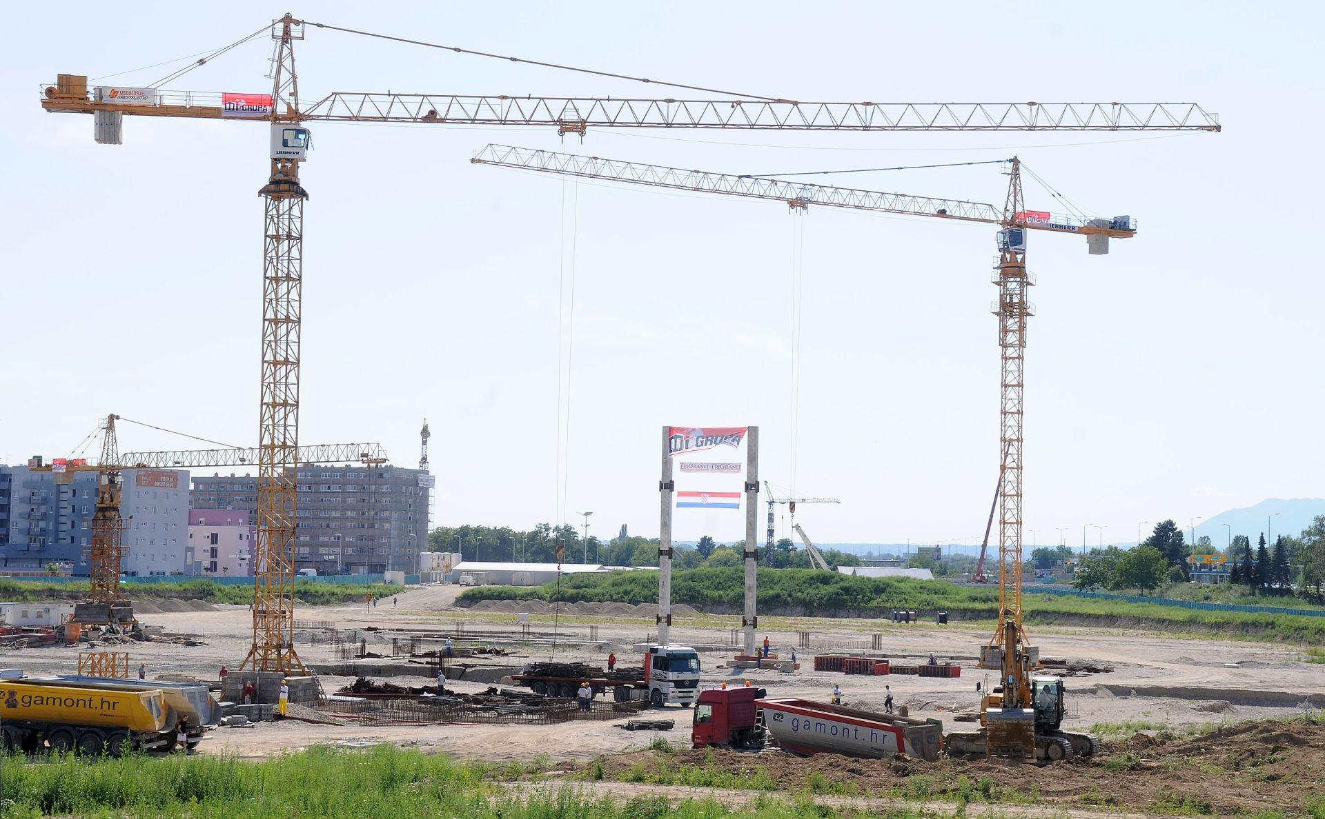 HGK Vrijednost građevinskih radova porasla sedmo tromjesečje zaredom