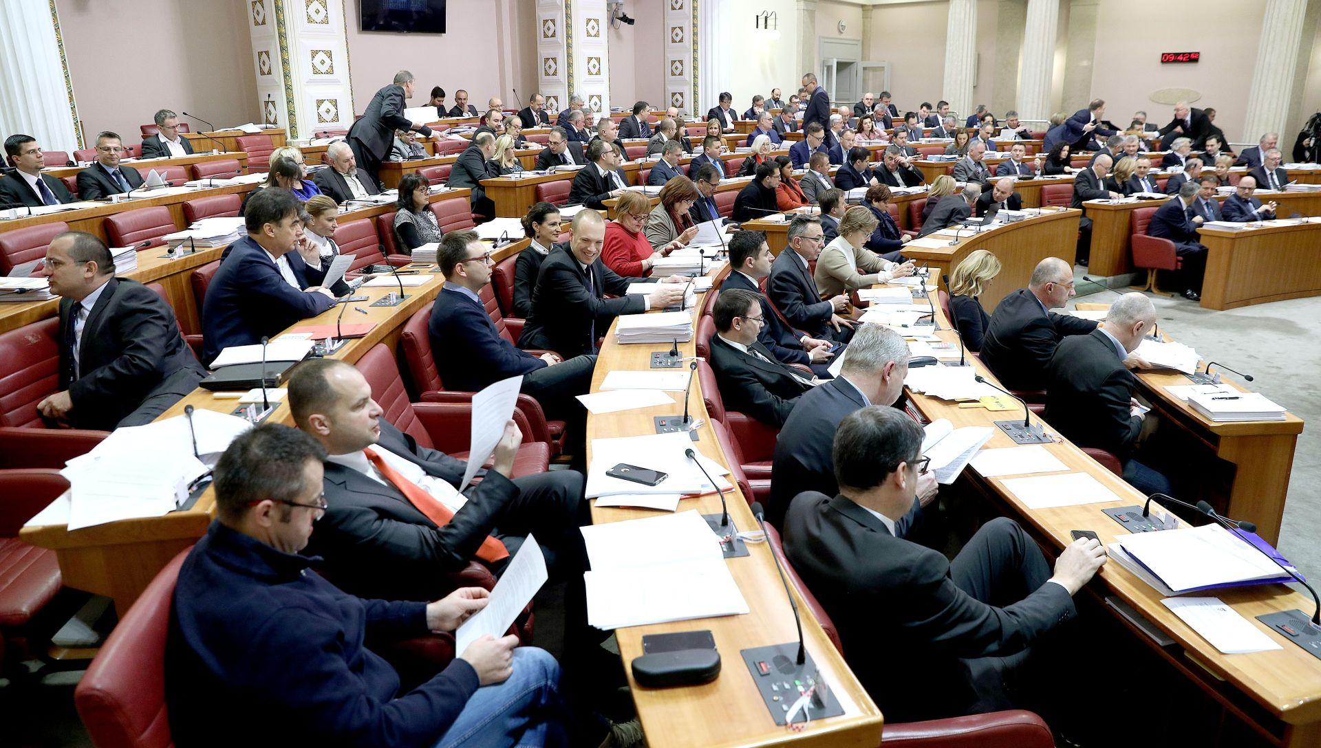 SJEDNICA SABORA Stanka zbog Ustavnog suda i zapošljavanja u HEP-u