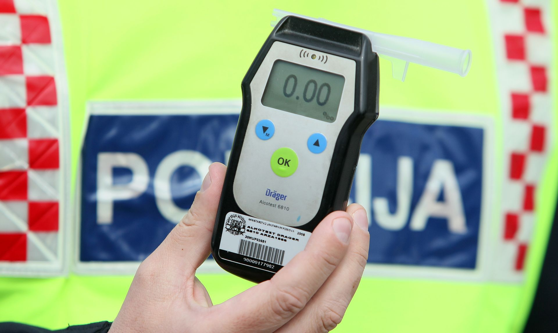 NOVI 'REKORDER' Šibenskom vozaču (38) izmjeren 3,61 promil alkohola u krvi