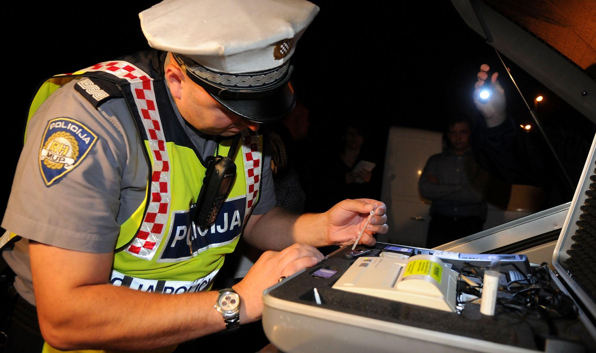 Zagrebačka policija provodi nadzor vozača pod utjecajem droga i alkohola