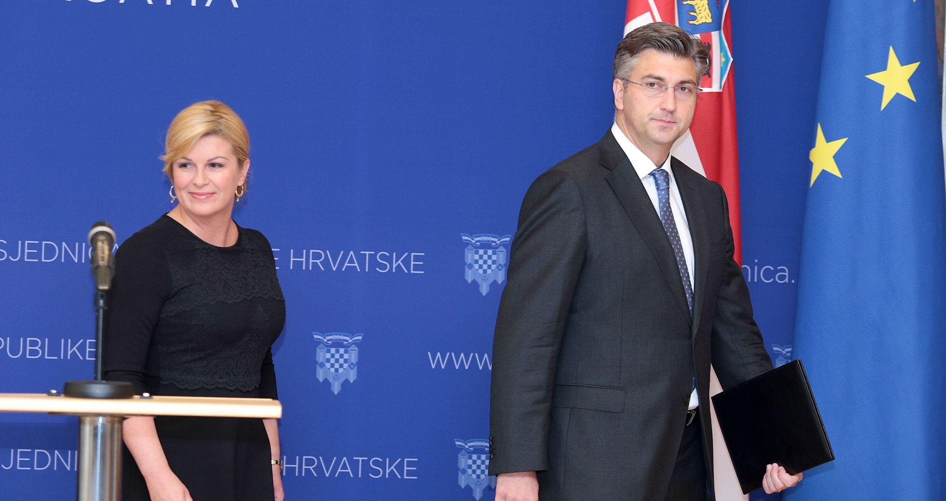 Predsjednica i premijer pripremili teren za odlazak Šukera i Mamića