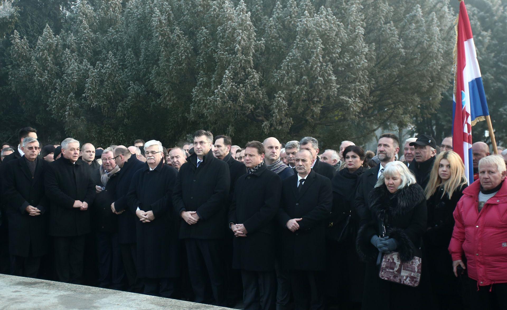 PLENKOVIĆ 'Pod Tuđmanovim vodstvom ostvarili smo najveća postignuća'