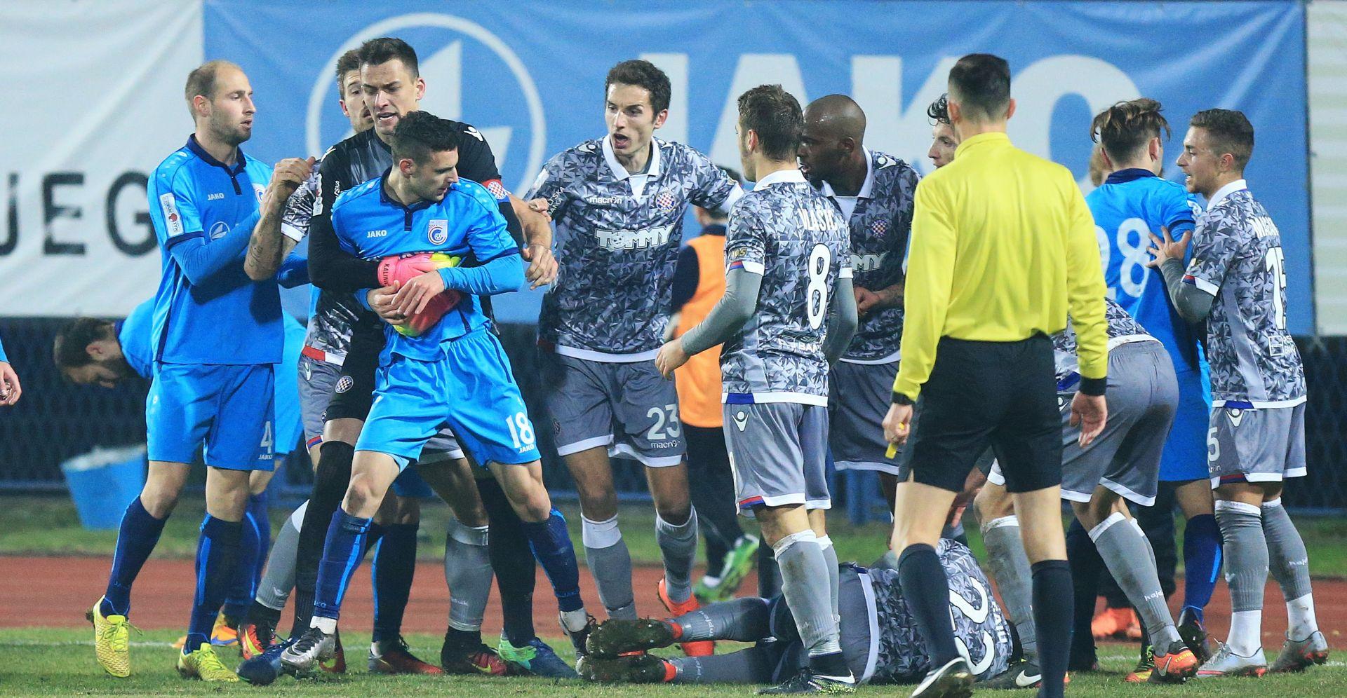 """ŠALINOVIĆ """"Cijela utakmica je bila lakrdija u režiji suca"""""""