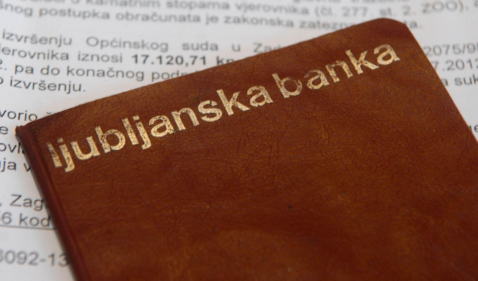 Slovenija dosad isplatila više od 100 milijuna eura štedišama Ljubljanske banke