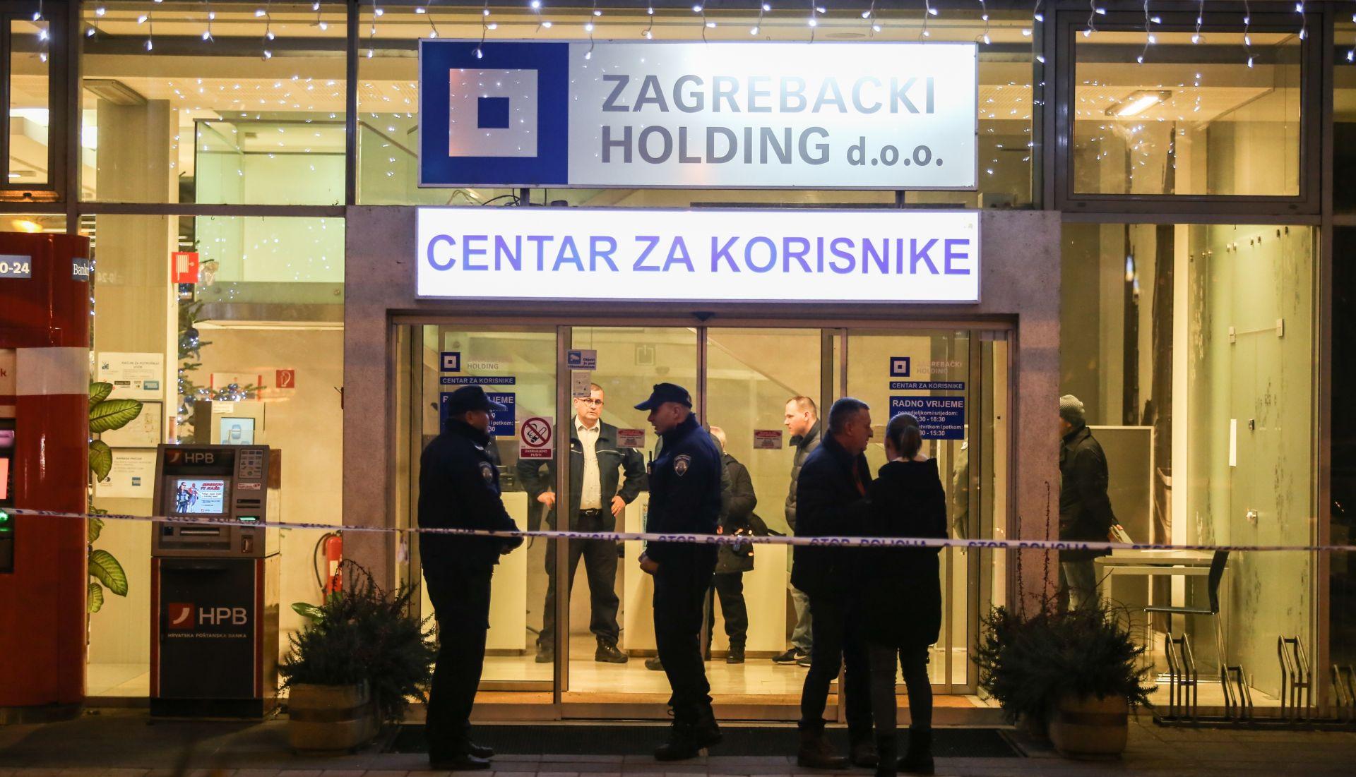 Razbojnici u pljački Zagrebačkog holdinga ukrali oko 800 tisuća kuna i ozlijedili zaštitara