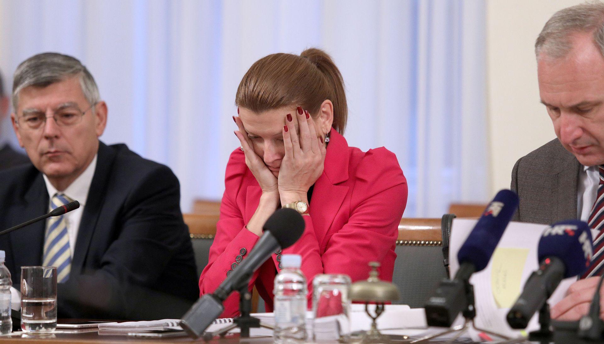 SHOW NA ODBORU ZA OBRAZOVANJE Glasovac Krstulović Opari pet puta rekla da laže