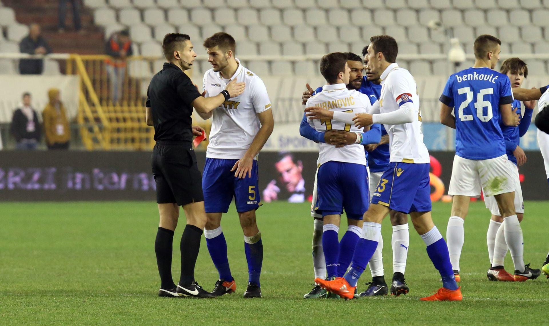 Hajduk kažnjen s ukupno 60 tisuća kuna, Šimiću suspenzija od tri utakmice