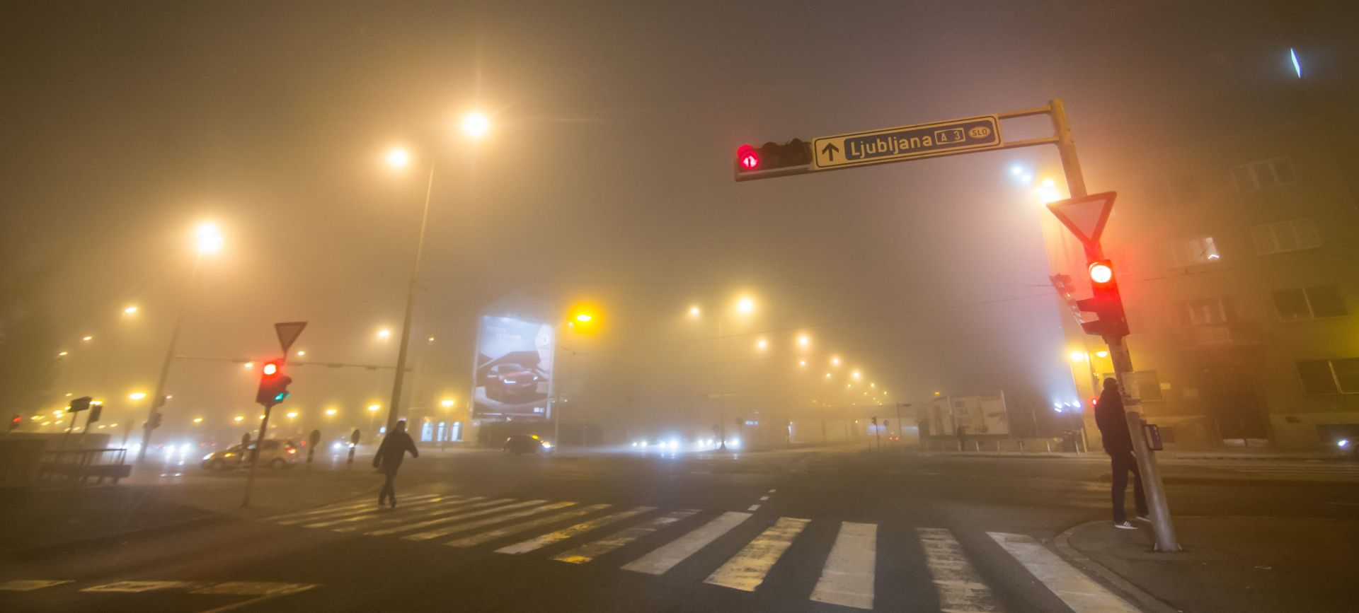 HAK Kolnici vlažni i skliski, magla smanjuje vidljivost