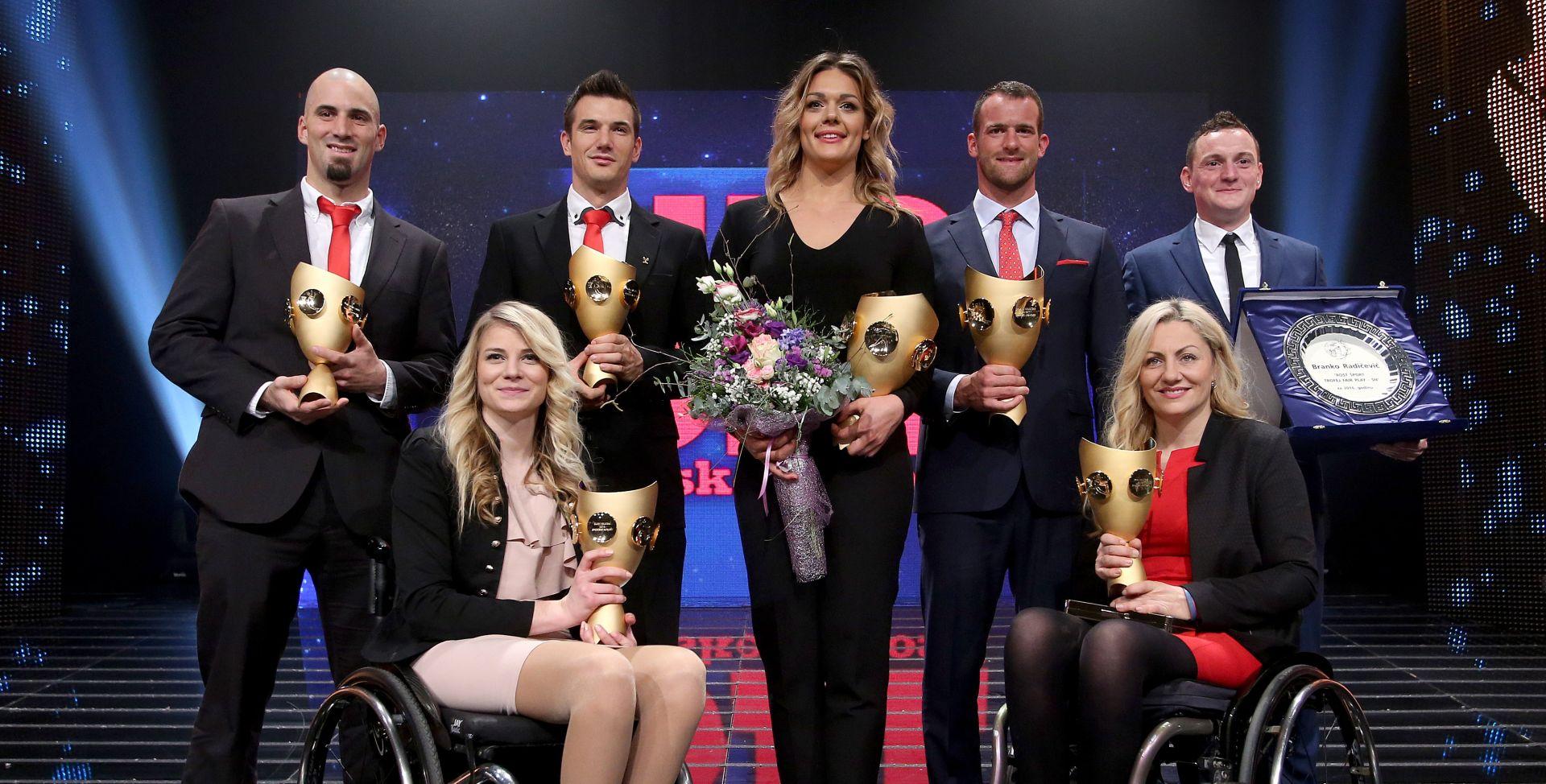 Perković i Martin najbolji sportaši, Mužinić i Dretar Karić najbolja ekipa, braća Sinković najbolja momčad