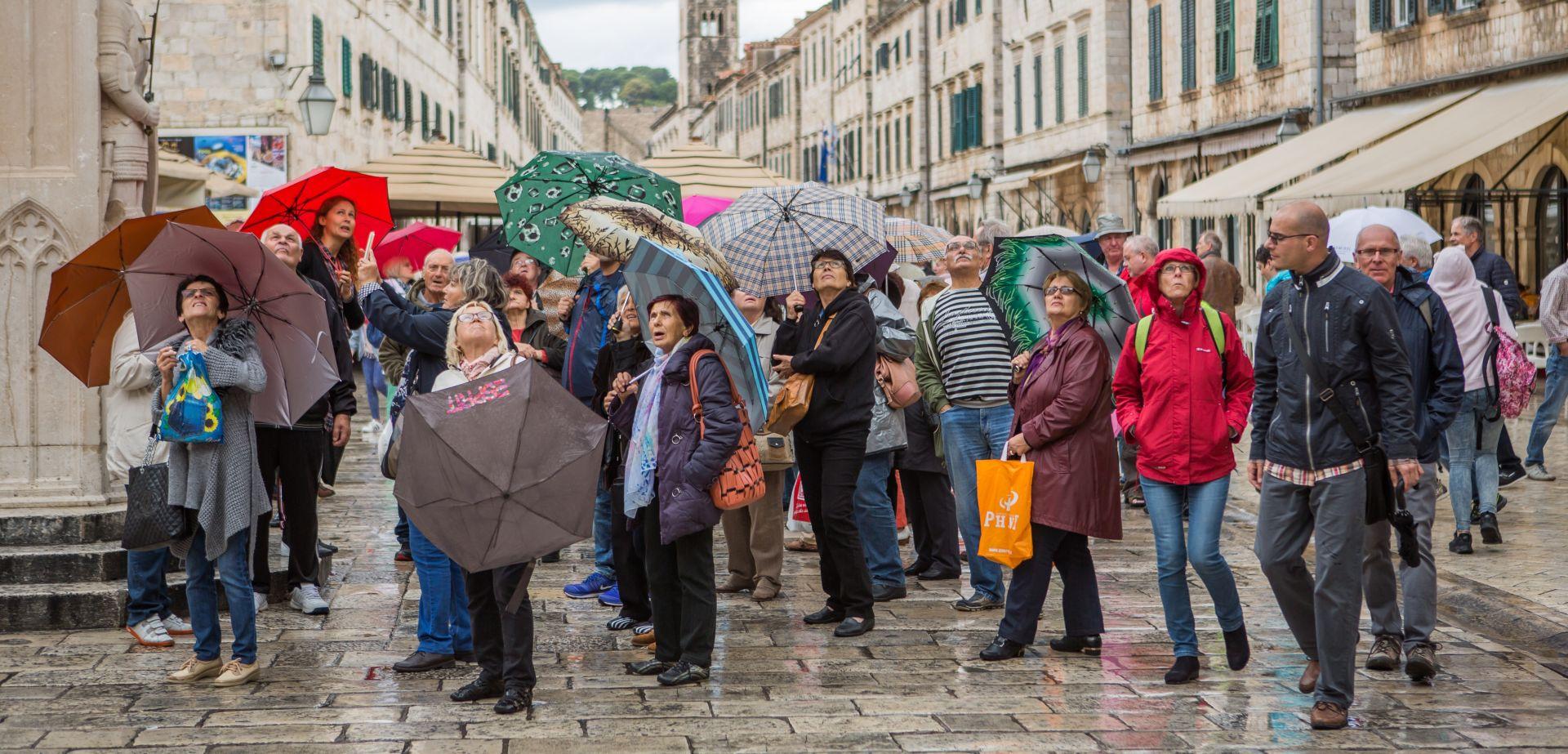 DZS: U listopadu 13,2 posto više turista i 16 posto više noćenja