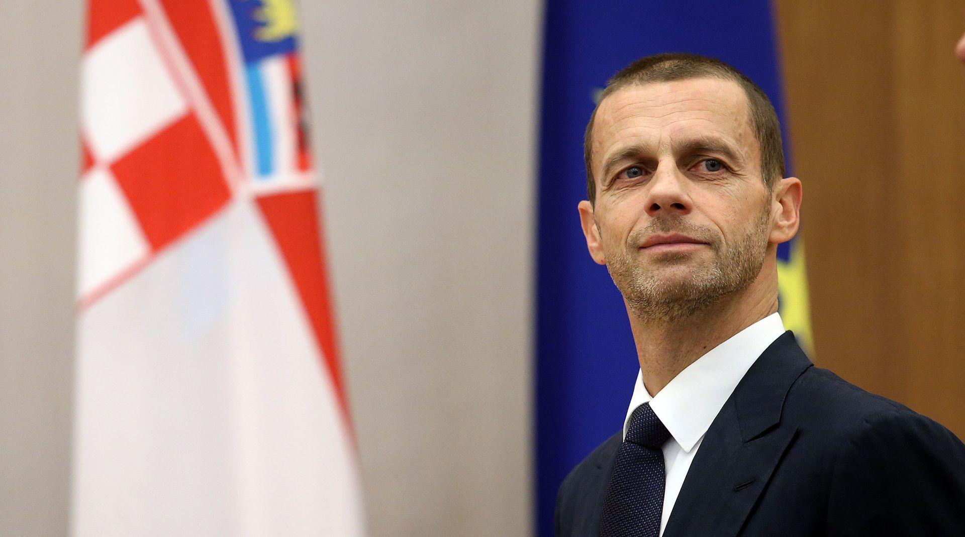 """ČEFERIN """"Moguće su najoštrije sankcije i za hrvatsku reprezentaciju i klubove"""""""