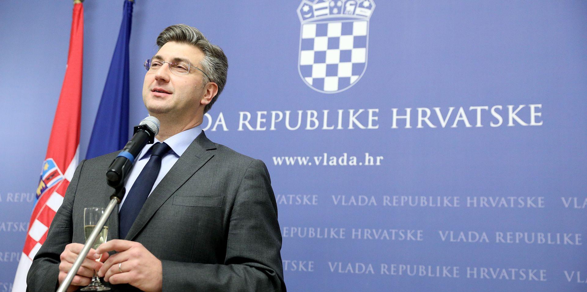 PLENKOVIĆ 'Mi smo prva Vlada koja je sjela za stol s Upravom Ine'