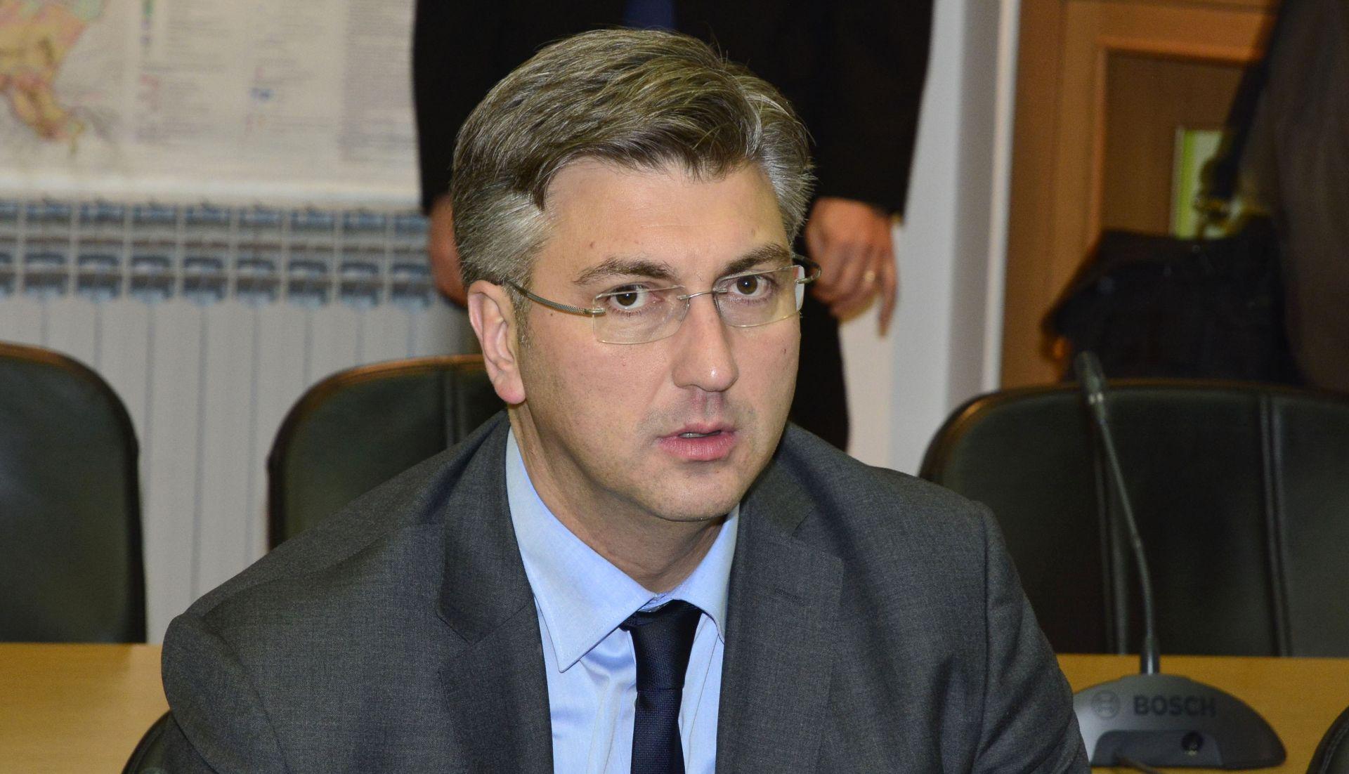 Plenković: Međusobnim uvažavanjem i partnerstvom nastaviti graditi moderno društvo