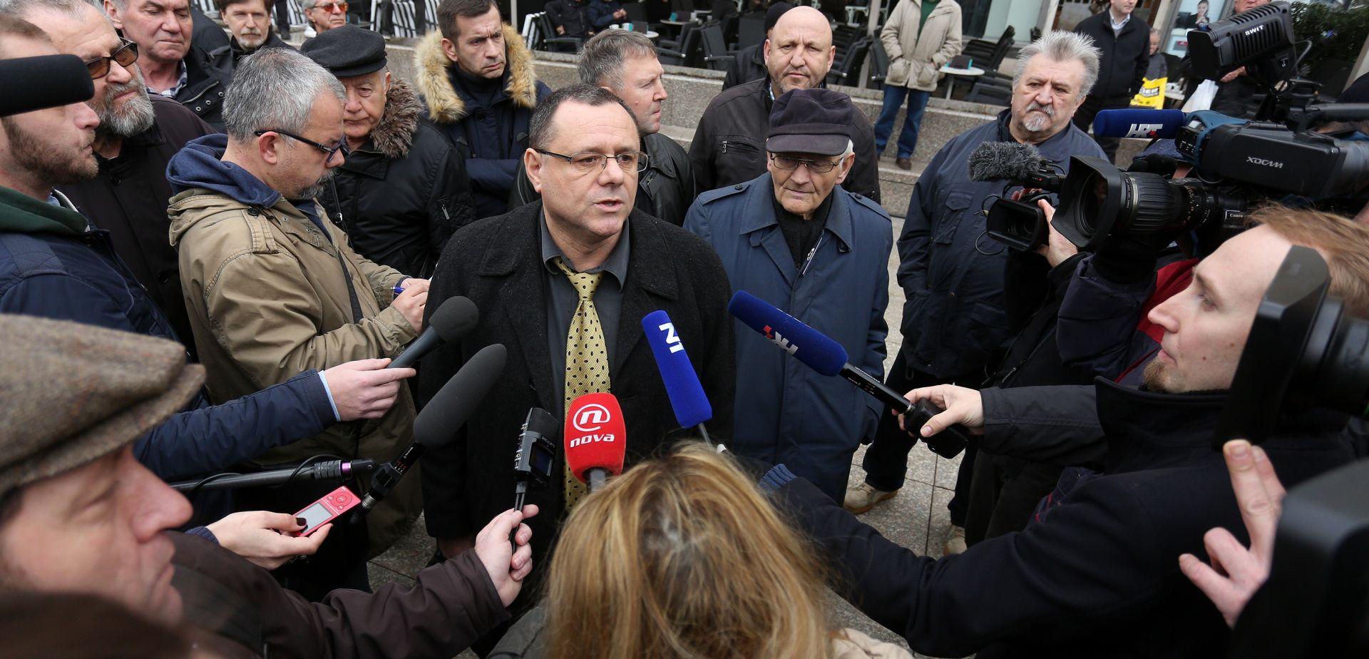 """Keleminec priveden ispred središnjice SDP-a zbog uzvikivanja """"Za dom!"""""""