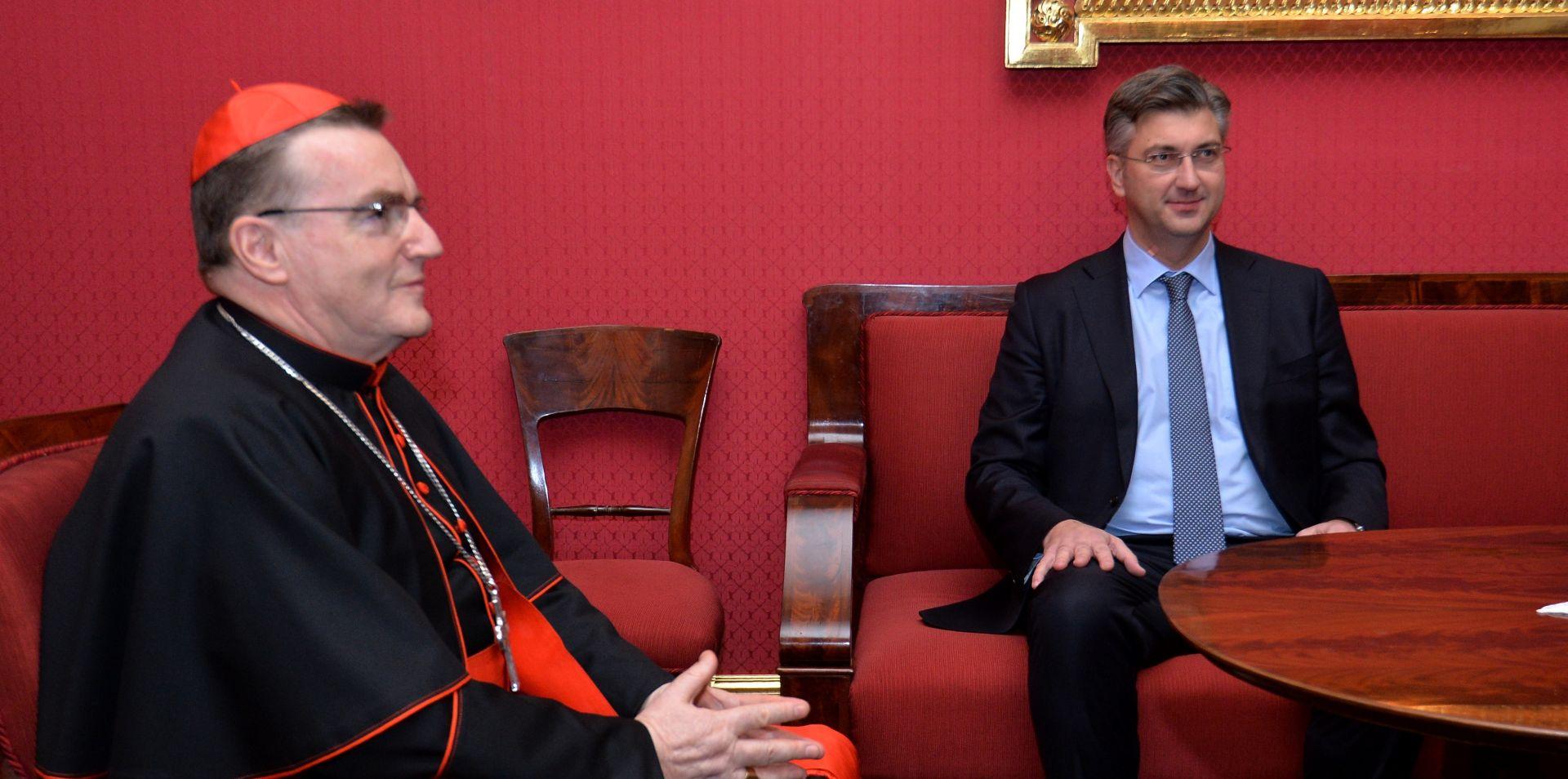 SUSRET BOZANIĆA I PLENKOVIĆA Razgovarali o suradnji između Crkve i države