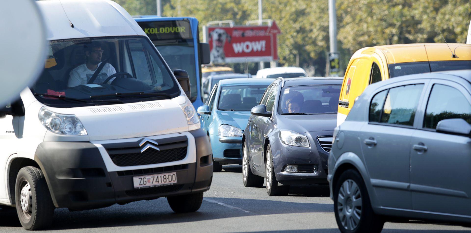 HAK Pojačan promet na gradskim prometnicama i obilaznicama