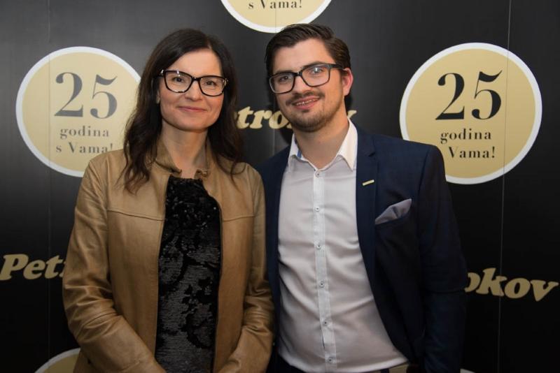 Simona Zavrtnik i Goran Vdovič, voditelj marketinga i novih medija