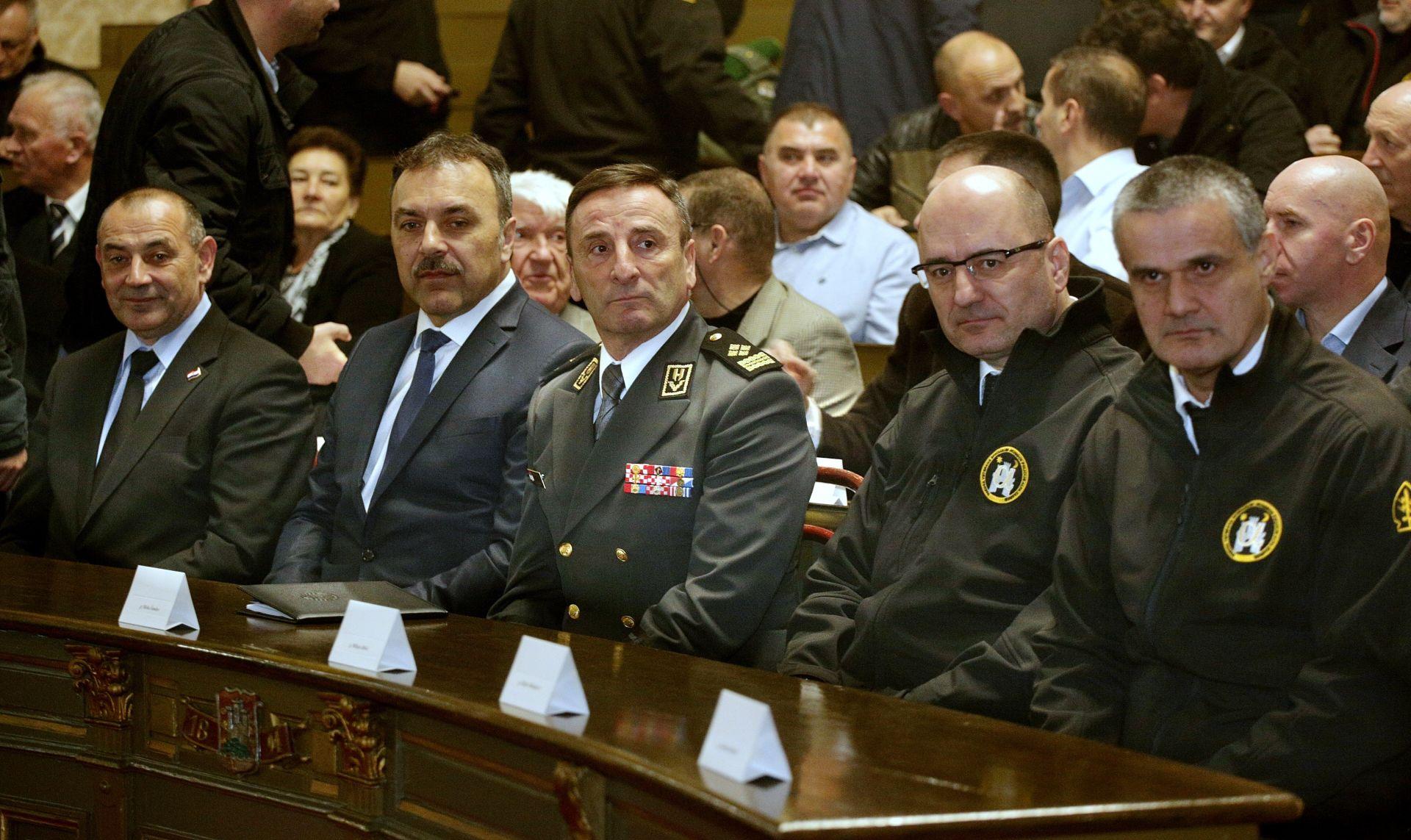 """SVEČANA SJEDNICA: 25. obljetnica Specijalne policije hrvatskoga MUP-a """"Alfa"""""""