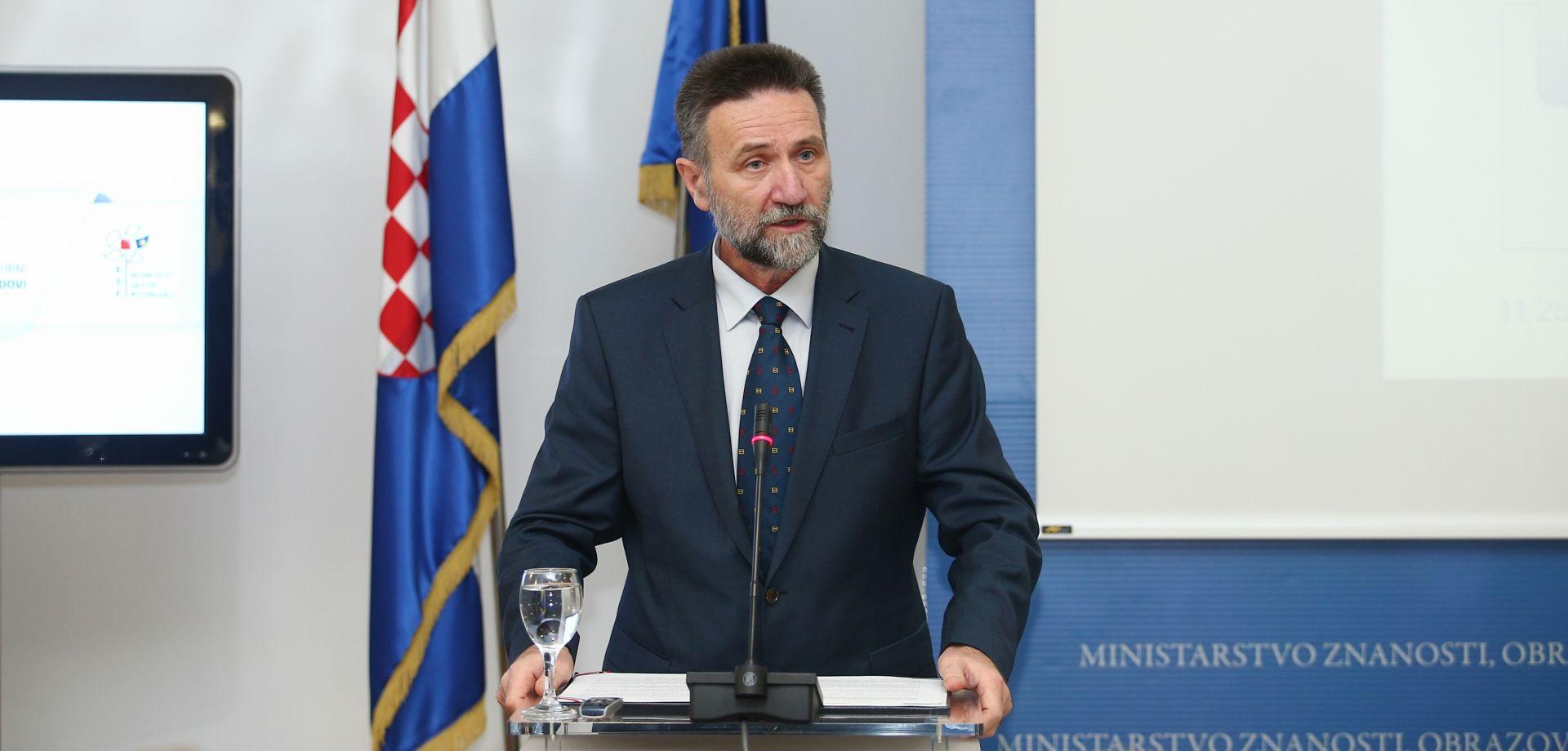 Ministarstvo znanosti i obrazovanja očitovalo se povodom Đikićevog odlaska iz Hrvatske