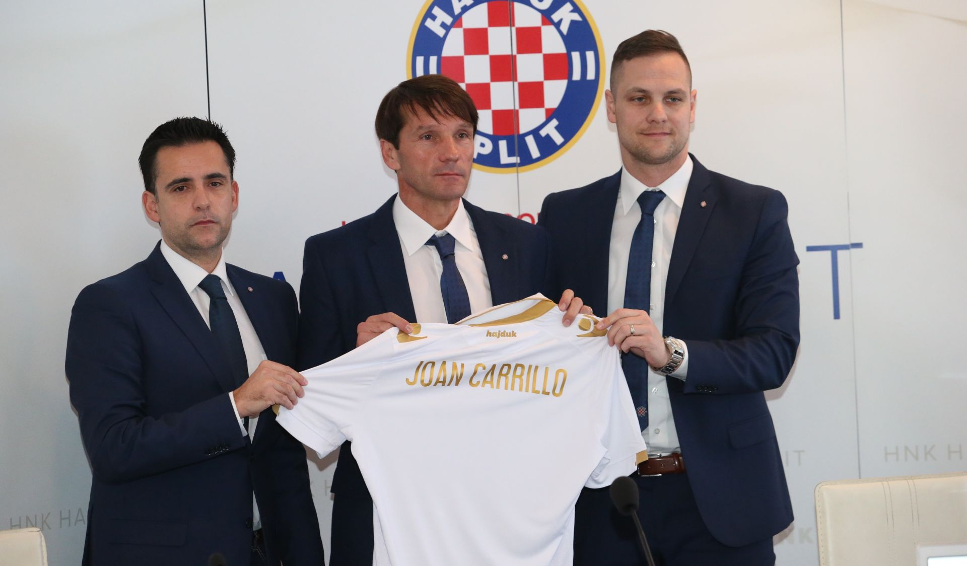 PUŠNIKOV NASLJEDNIK: Španjolac Joan Carrillo novi je trener Hajduka