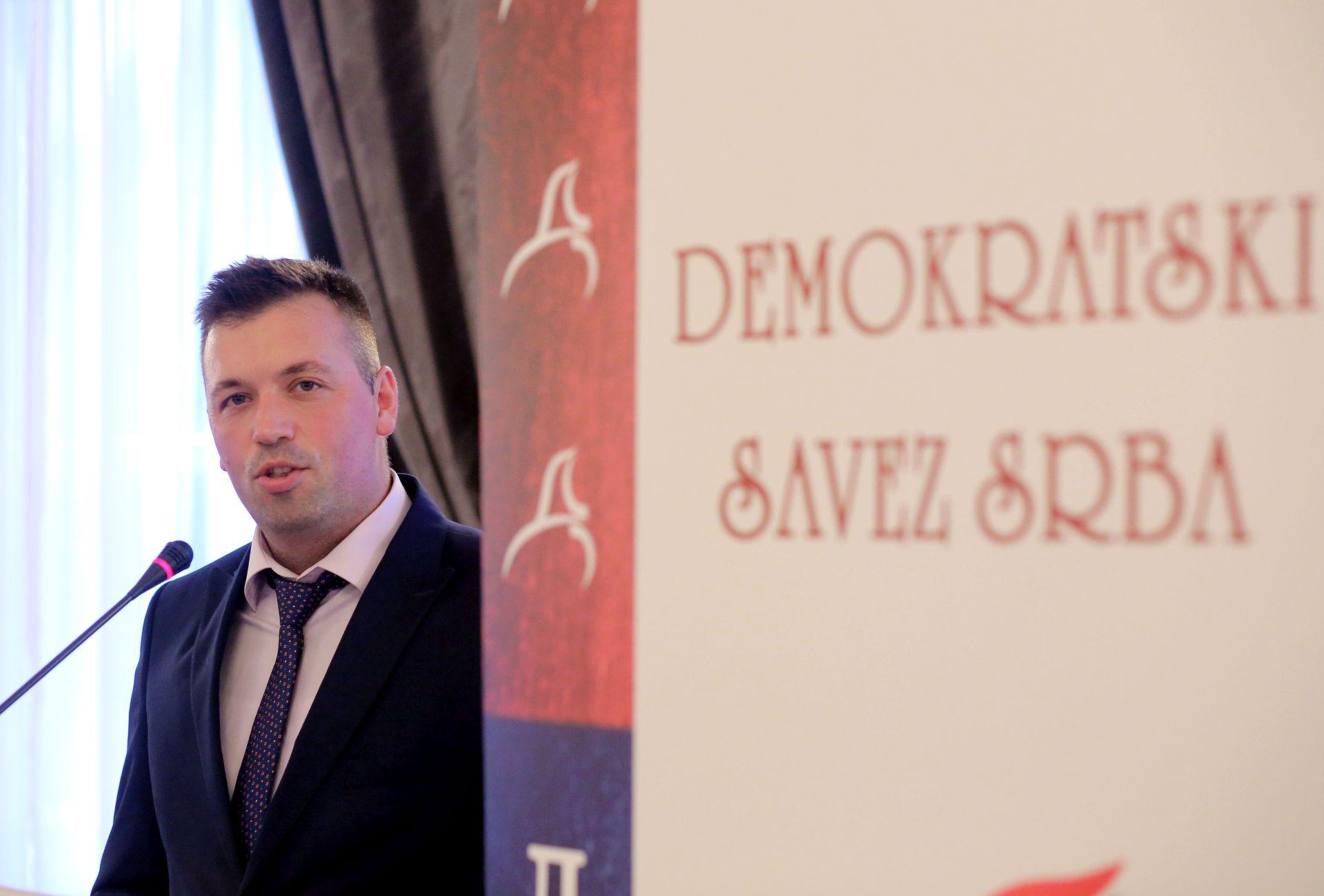 DSS osudio postavljanje HOS-ove spomen ploče u Jasenovcu