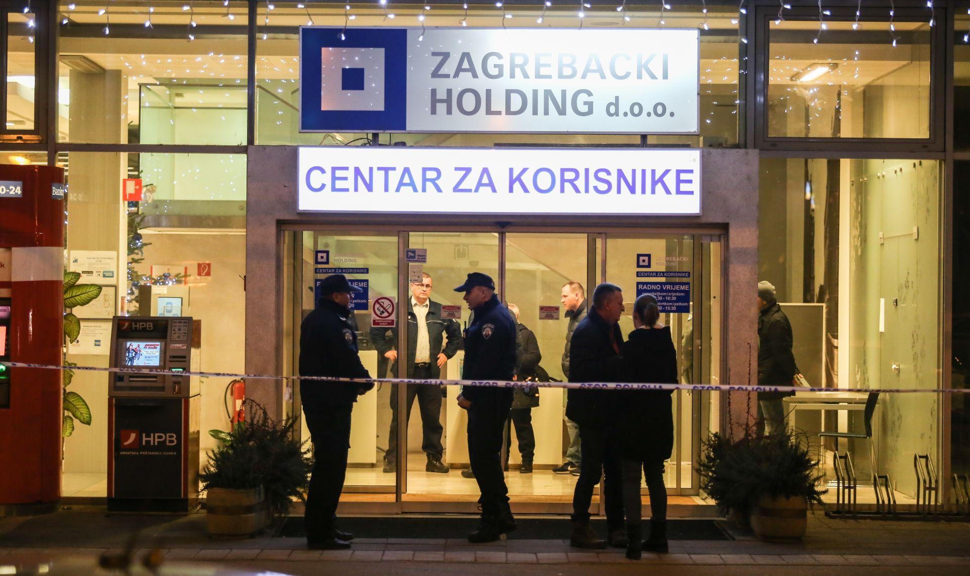 PLJAČKA U ZAGREBU: Naoružani lopovi upali u Zagrebački holding, ukrali najmanje 800.000 kuna