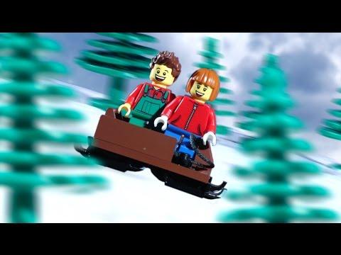 VIDEO: Kratki blagdanski LEGO film
