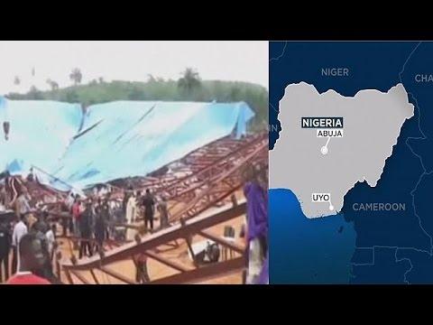 VIDEO: NIGERIJA Urušio se krov nedovršene crkve tijekom mise, poginulo najmanje 60 osoba