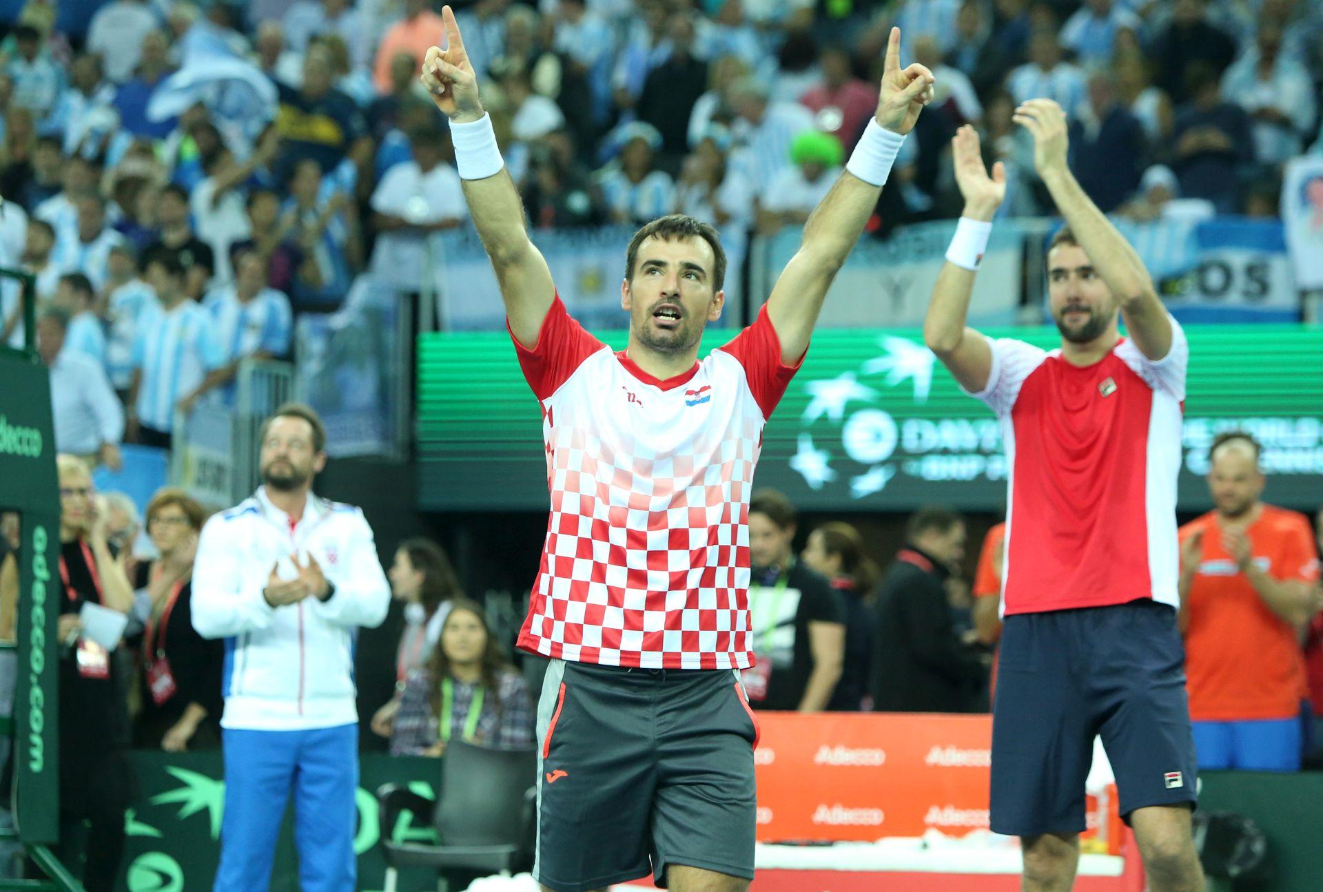 DAVIS CUP: Dodig neće igrati protiv Španjolske