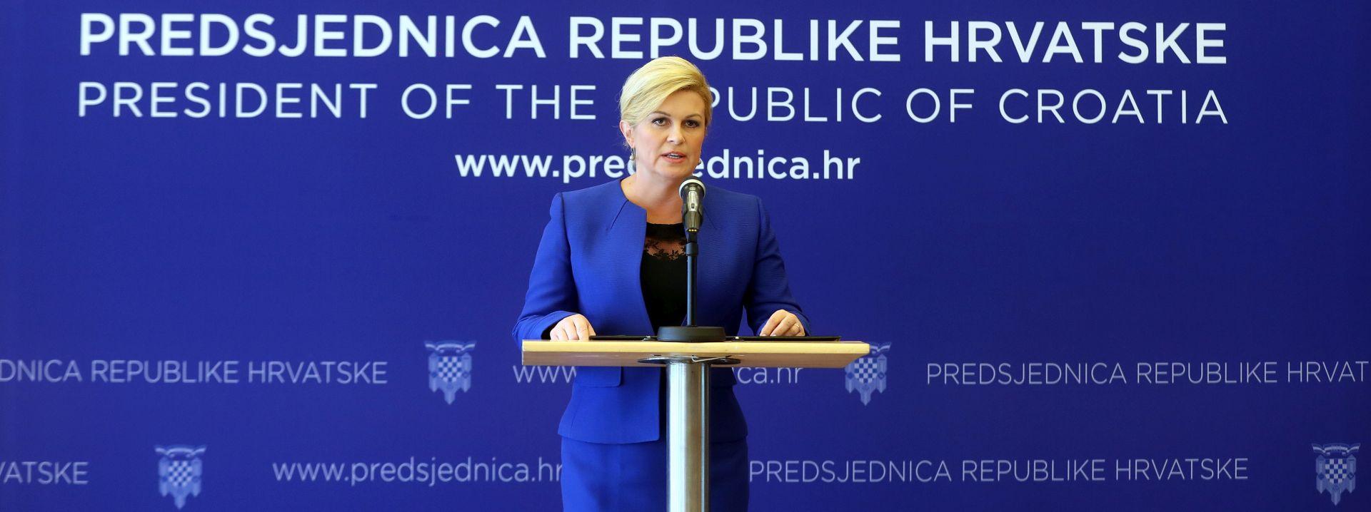 PANTOVČAK Predsjednica predstavila tri nova savjetnika