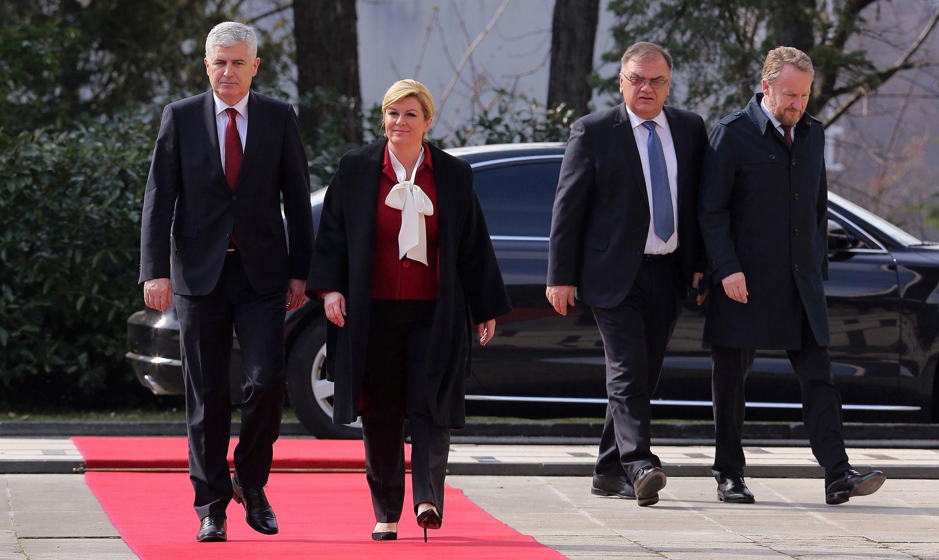 SDP BiH O OCJENAMA PREDSJEDNICE: 'Potvrđuju politiku uplitanja i destabiliziranja odnosa i prilika u BiH'