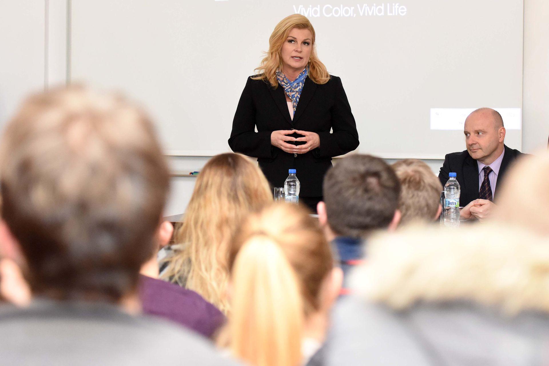 Predsjednica s načelnicima i gradonačelnicima Varaždinske županije