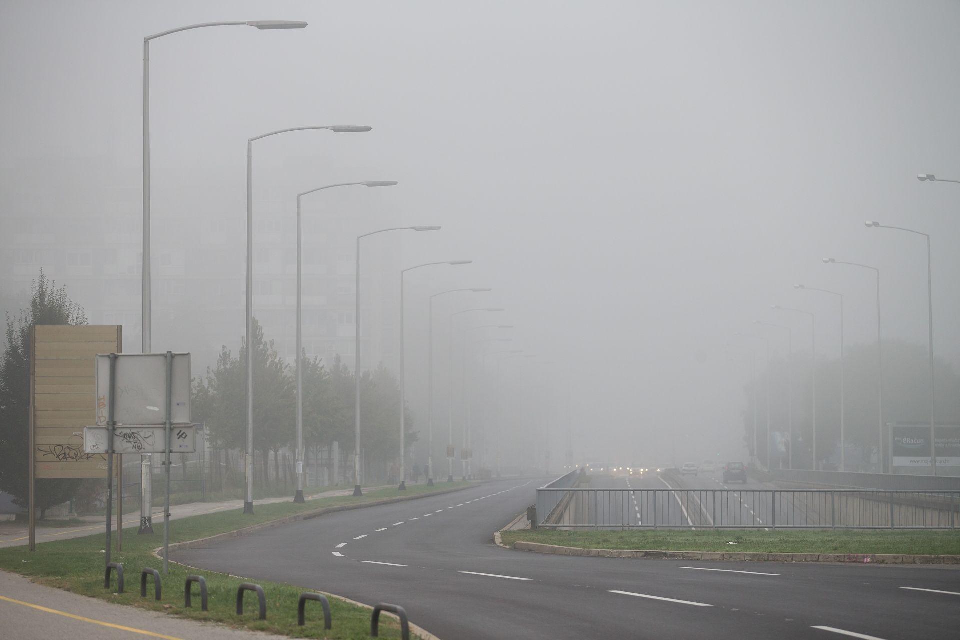 VRIJEME Na Jadranu pretežno sunčano, u unutrašnjosti magla