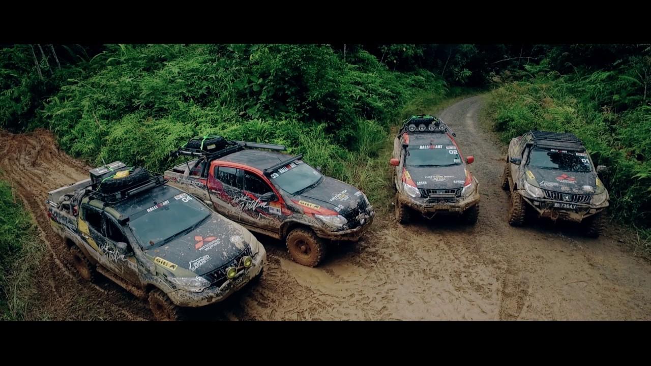 VIDEO: Pogledajmo kako je prošao Mitsubishi Challenge: Borneo Safari 2016