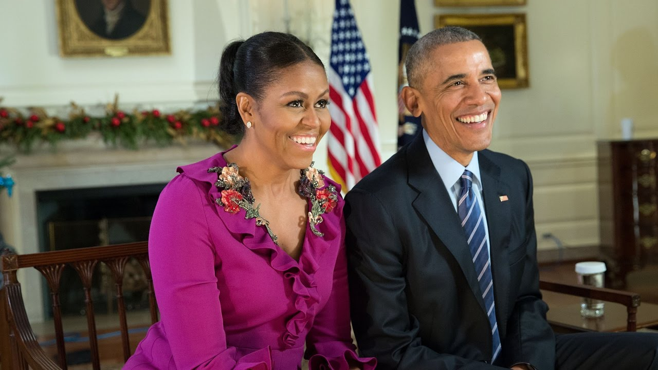 VIDEO: Božićna poruka od Baracka i Michelle Obame