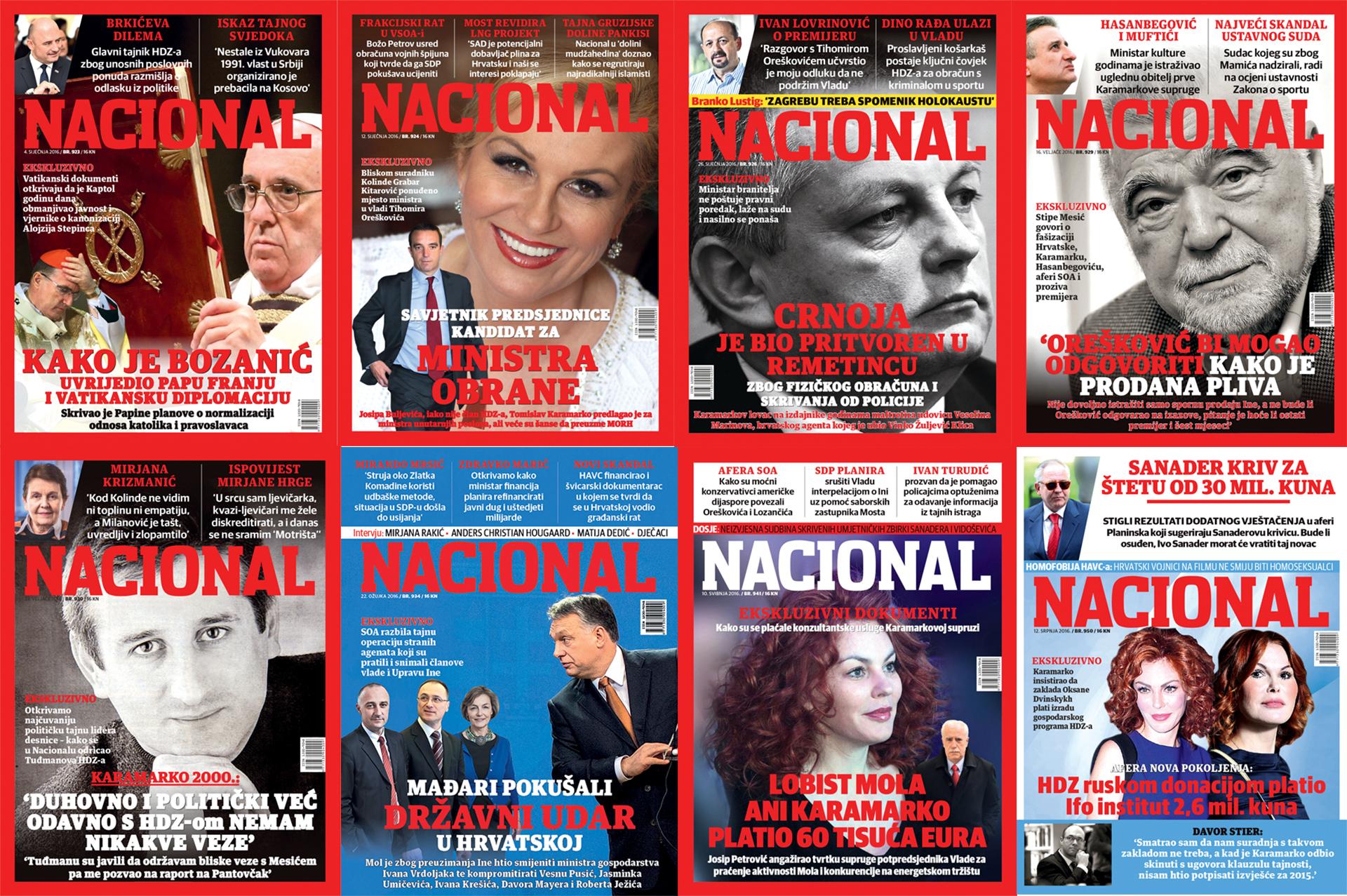 'Nacional je najkvalitetniji tjednik u Hrvatskoj'