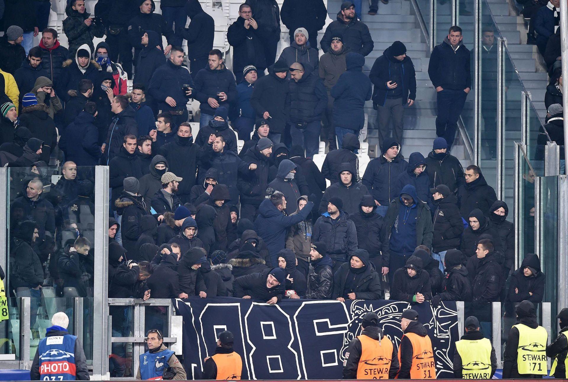 SUKOB S POLICIJOM: Trojica navijača Dinama pritvorena u Torinu