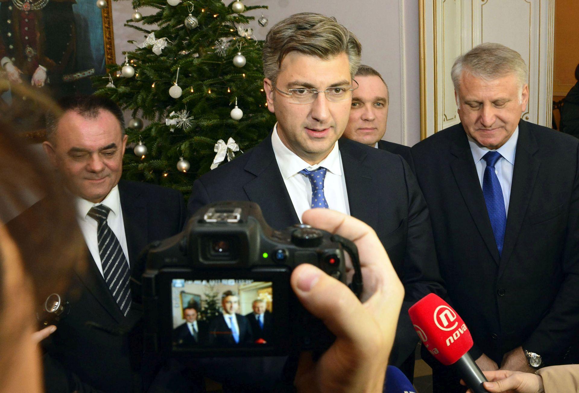 PLENKOVIĆ: Nastavit će se razgovori oko zahtjeva za izmjenu Zakona o privatizaciji Ine