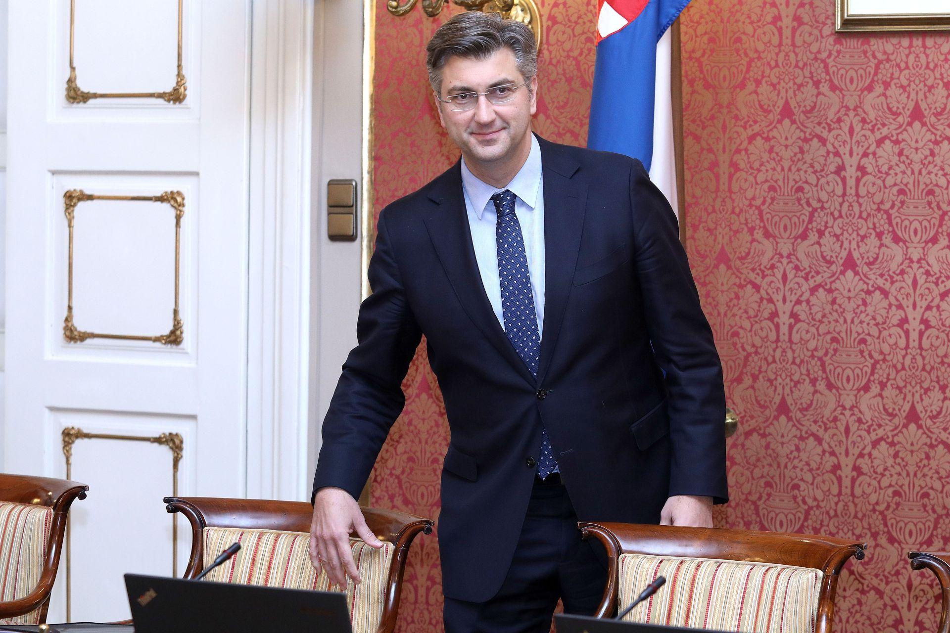 VLADA Plenković pohvalio dogovor sa sindikatima državnih službi