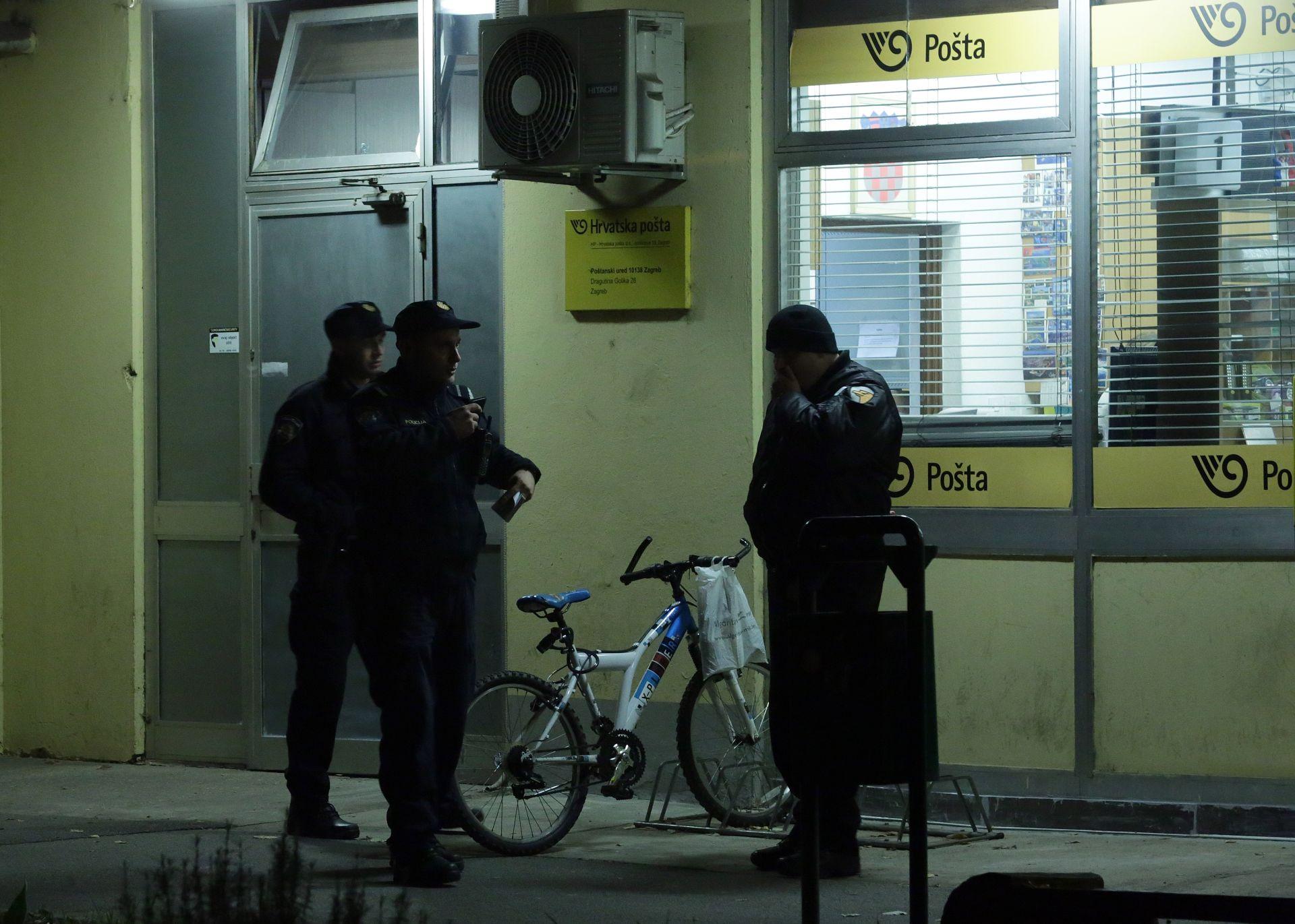 PLJAČKA U ZAGREBU: Dvojica naoružanih muškaraca uz prijetnju vatrenim oružjem opljačkala poštu