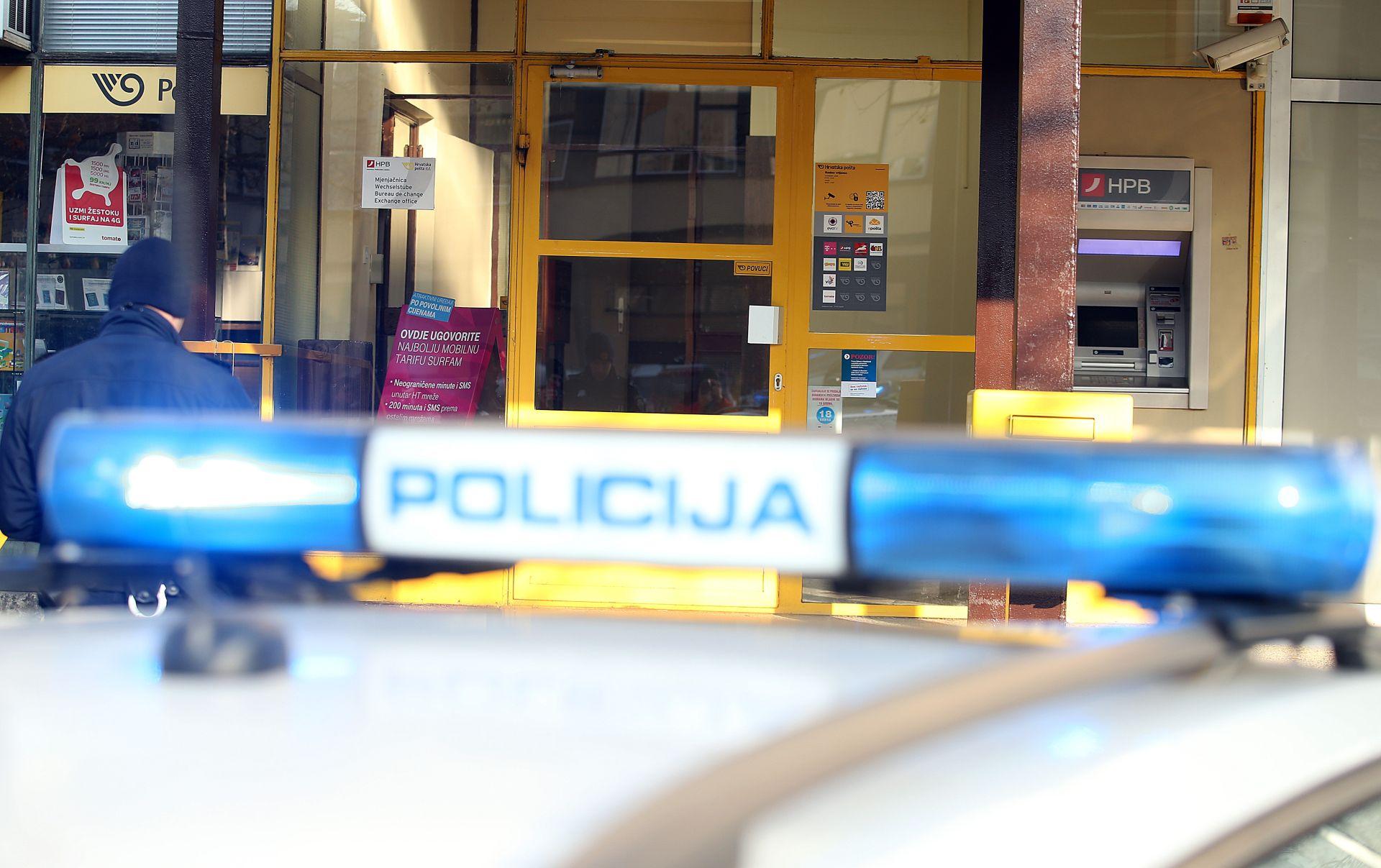 Nova pljačka poslovnice Hrvatske pošte u Zagrebu