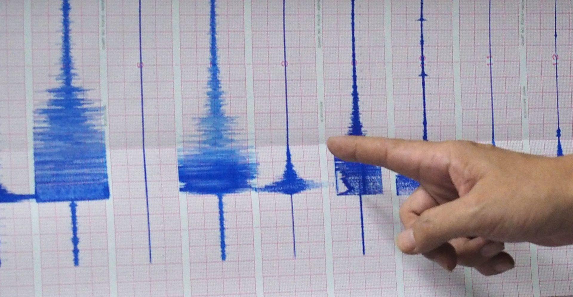 Na riječkom području umjeren potres od 3,4 prema Richteru