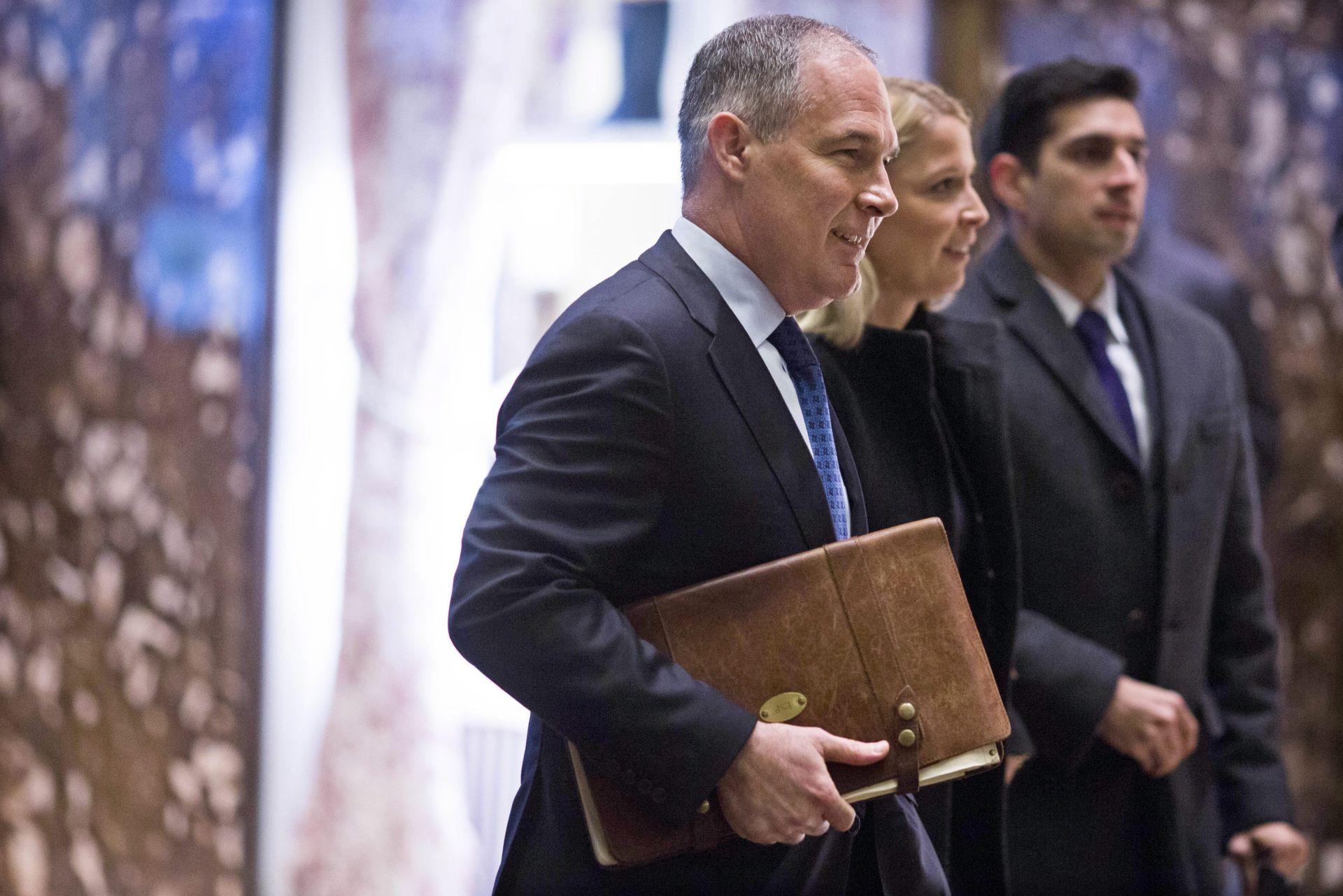 TRUMPOV IZBOR: Klimatski skeptik Scott Pruitt na čelu agencije za okoliš